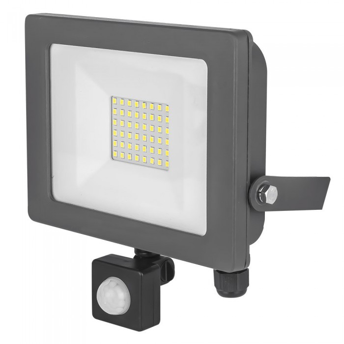 LED PIR Flood light 30W