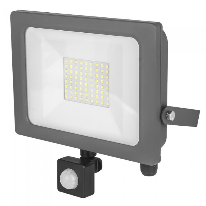 LED PIR Flood light 50W