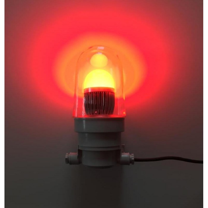 Red LED Night Light