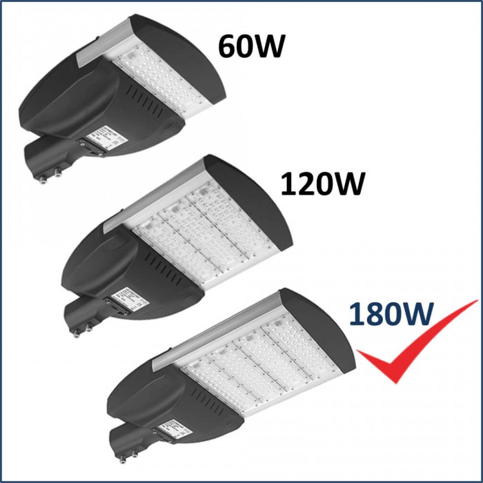 LED Street-Outdoor Lighting 180W